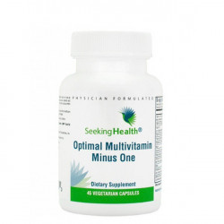 Optimal Multivitamin Minus One - (Free from Methylated B Vitamins) 45 Capsules - Seeking Health
