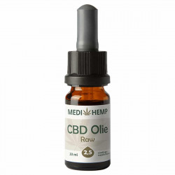 Medihemp CBD Oil RAW 2,5% (Hanf Complete) - 10ml