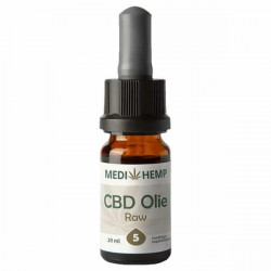 Medihemp CBD Oil RAW 5% (Hanf Complete) - 10ml