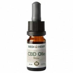 Medihemp CBD Oil RAW 18% (10ml)