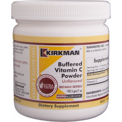 Buffered Vitamin C Powder - Bio-Max Series - Unflavored - Hypoallergenic