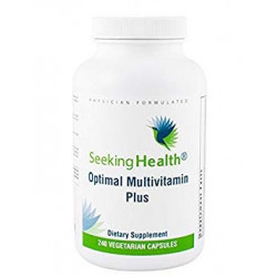 Optimal Multivitamin Plus - 240 Vegetarian Capsules - Seeking Health