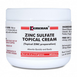 Zinc Sulfate Topical Cream - Kirkman